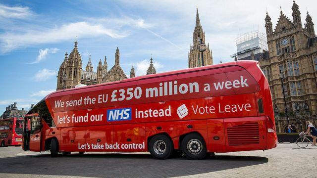 """Брексит - """"боевой автобус"""""""