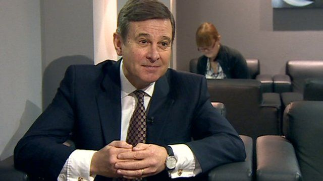 Roger Lewis, Chairman of Cardiff Airport