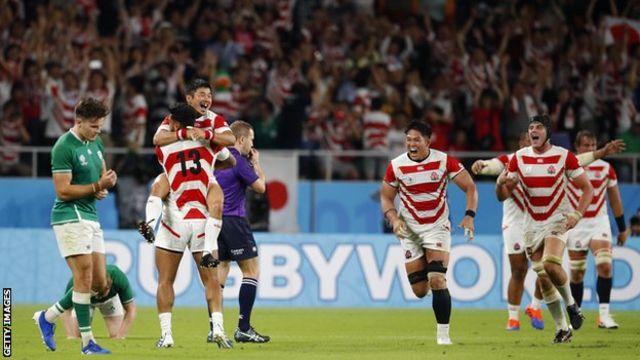 Japan beat Ireland