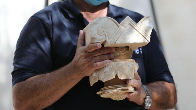 Dhismahan waxaa la qiyaasayaa in la burburiyay xilligii uu socday howlgalkii milatari ee Babylonian, oo Qudus ka dhacay 586 BC