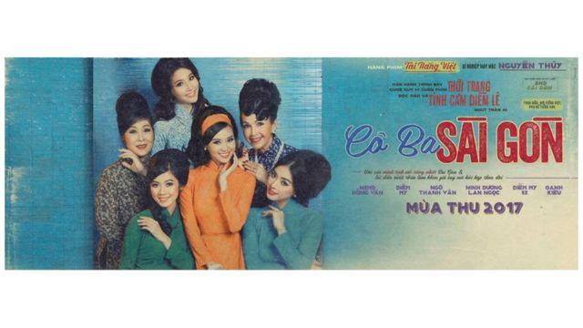 Cô Ba Sài Gòn lấy bối cảnh Sài Gòn thập niên 1960