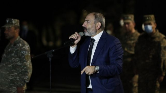 Aliyev, Paşinyan'ın bu anlaşmaya video önünde imza atmayı kabul etmediğini söyledi