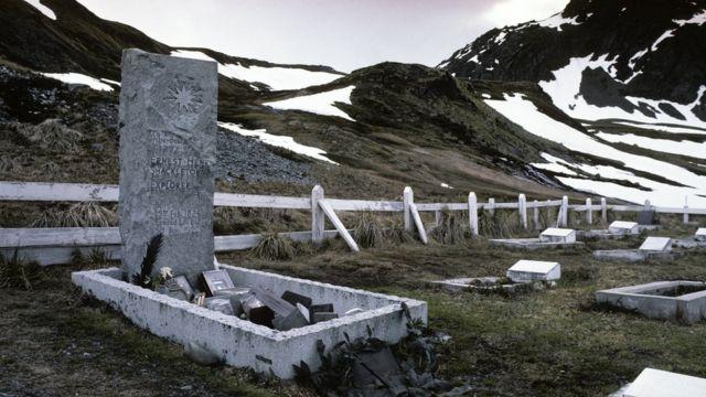 Tumba de Ernest Shackleton