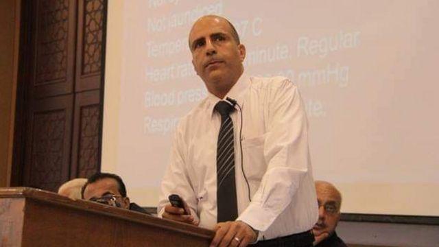 Doktor Ayman, El Şifa hastanesindeki Covid yoğun bakım servisinde de görevliydi.