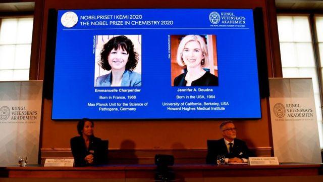 Anuncio del Premio Nobel de Química