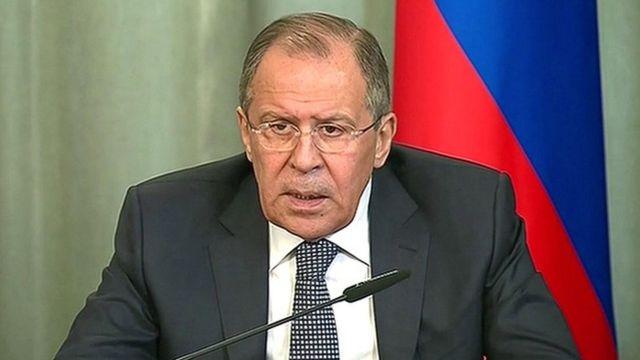 Sergueï Lavrov, le ministre russe des Affaires étrangères