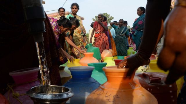 Chennai water: How India's sixth biggest city is coping with shortages