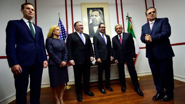 Funcionarios de EE.UU. se reúnen con AMLO