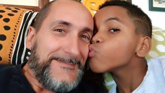 Massimiliano e o filho, Fernando