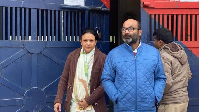 सदफ़ जाफ़र से मुलाक़ात कर लौटे अजय कुमार लल्लू