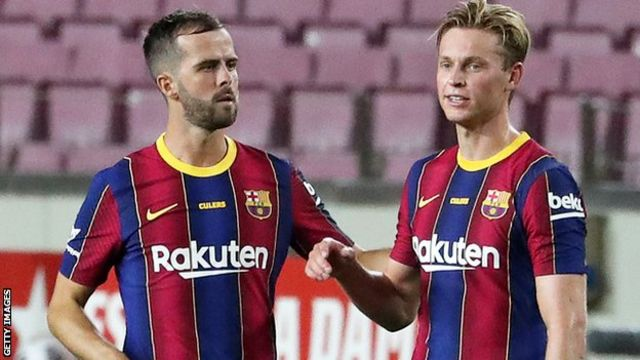 Good start for Koeman as Barcelona ease to win over Villarreal