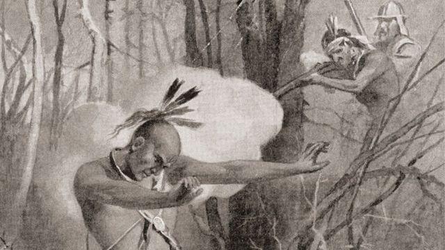 Metacom, o rebelde indígena, foi morto, mutilado e exposto