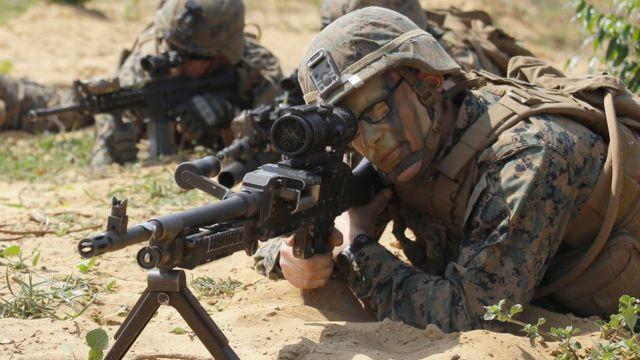 عناصر من القوات الأمريكية