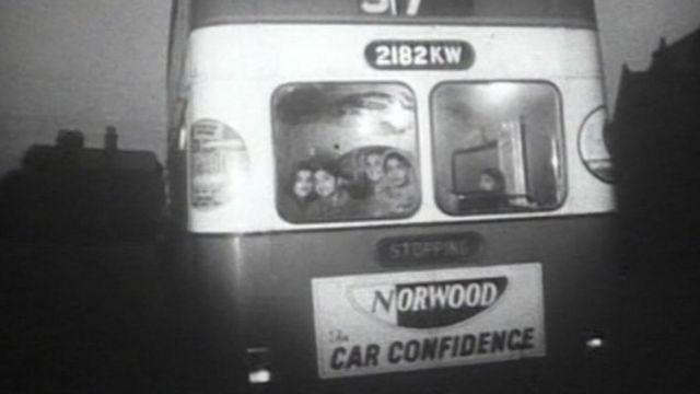 Bus en los 1960s