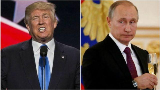 Дональд Трамп, Владимир Путин