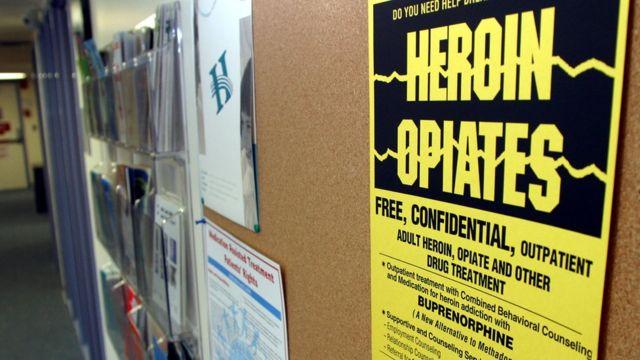 Advertencia sobre los opiáceos y la heroína