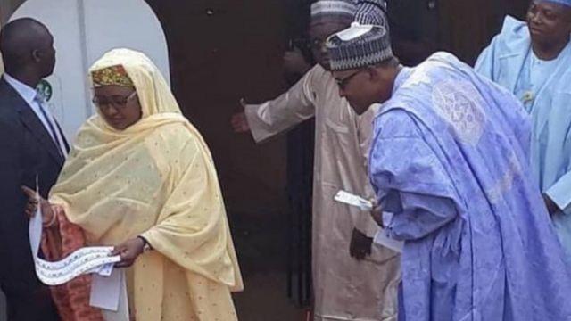 Buhari da mai dakinsa Aisha