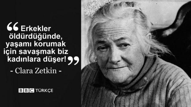 Clara Zetkin quote