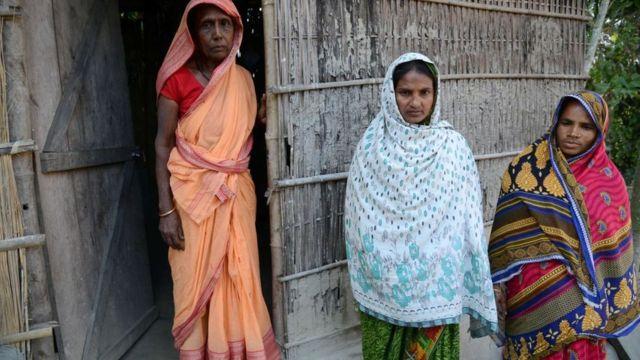 আসামের কামরূপে বাঙালি মুসলিম নারীরা