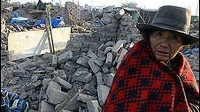 Pérou : tremblement de terre
