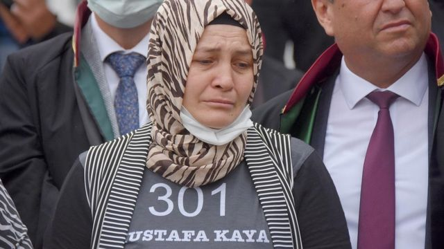 Eşi Mustafa Kaya'yı faciada kaybeden Naciye Kaya