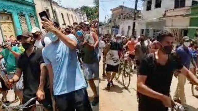 Protestos em Cuba