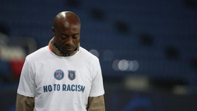 Cameroonian Pierre Webo, victim of racist remarks, has been supported by the world football community