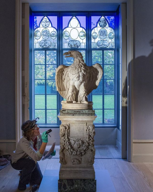 Древнеримская статуя орла 1 века н.э.