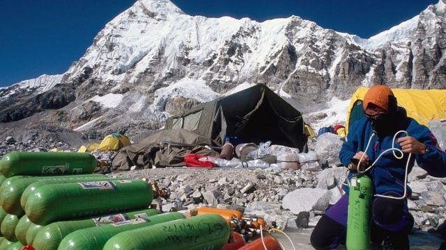 登山氧气瓶