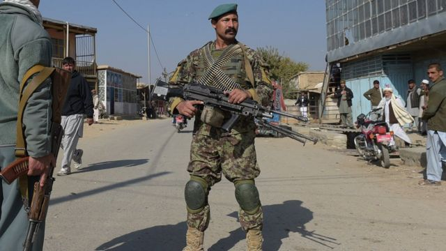 قوات أفغانية