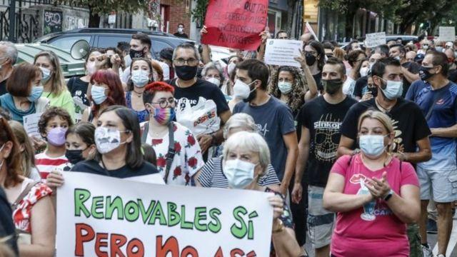 Іспанія протестує через підвищення цін на газ