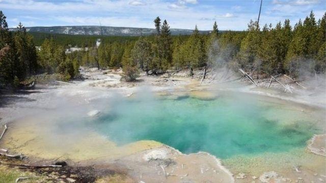 Норис бассейниндеги булактар вулкандардын таасири менен ысып чыгат