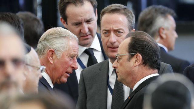 شاهزاده چارلز، فرانسوا اولاند،