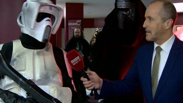 Star Wars fans in Northern Ireland have been gearing up to see the seventh film in the series