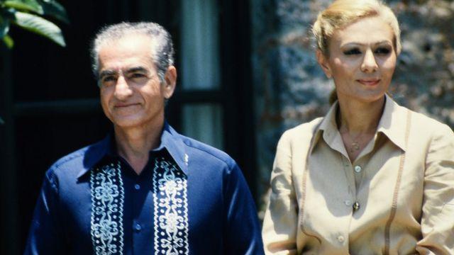 محمد رضا شاه و فرح دیبا