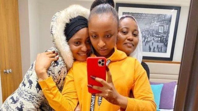 Fati Washa, Rahama Sadau da Hadiza Gabon.