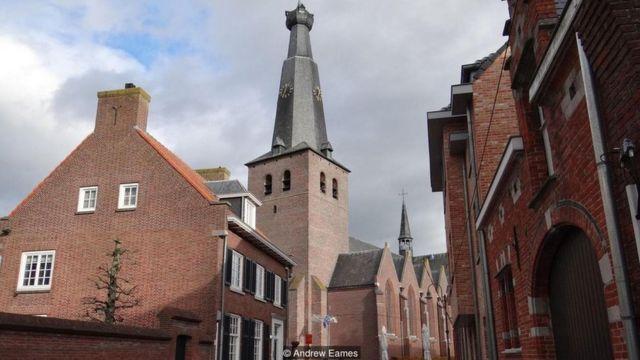 Casas de Baarle-Nassau, na Holanda
