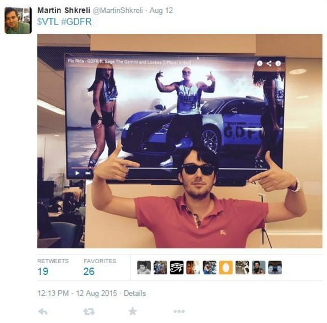 Who is Martin Shkreli - 'the most hated man in America'?