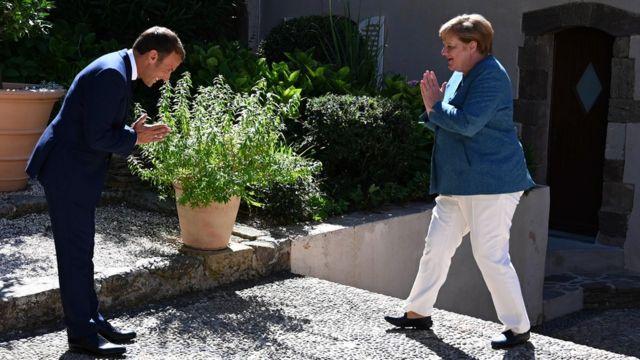 Макрон і Меркель