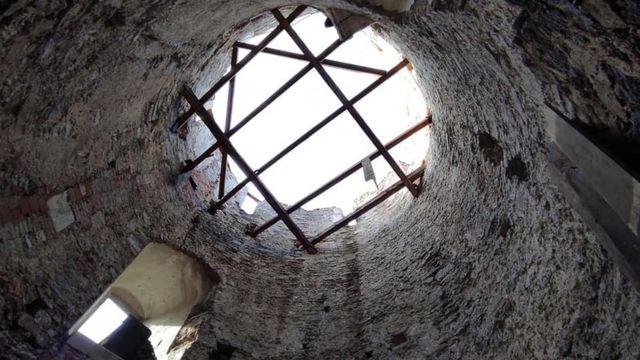 Кам'янець-Подільська фортеця, буревій