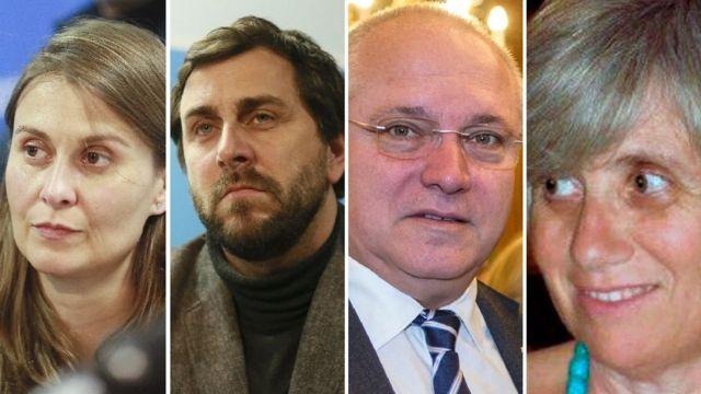 екс-міністри каталонії