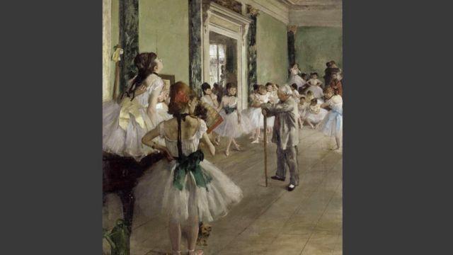 "Эдгар Дега ""Урок танцев"""