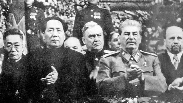 毛澤東和斯大林