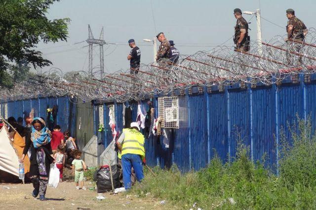 Венгерские пограничники