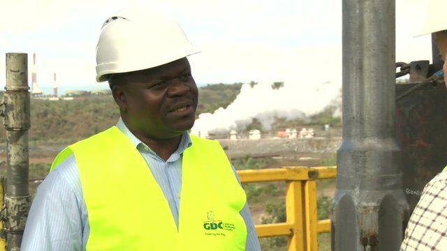 Cornel Ofwona - Manager, Geothermal development company