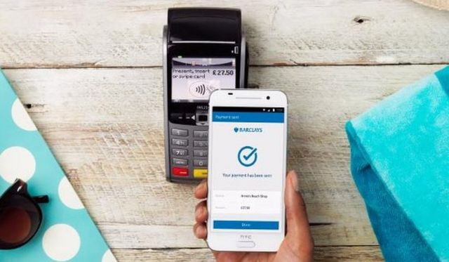 Barclays Android app makes £100 contactless payments