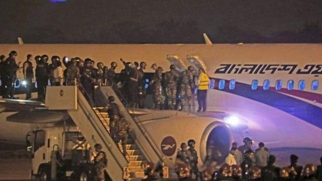 Semua penumpang dan awak penerbangan ke Dubai selamat.