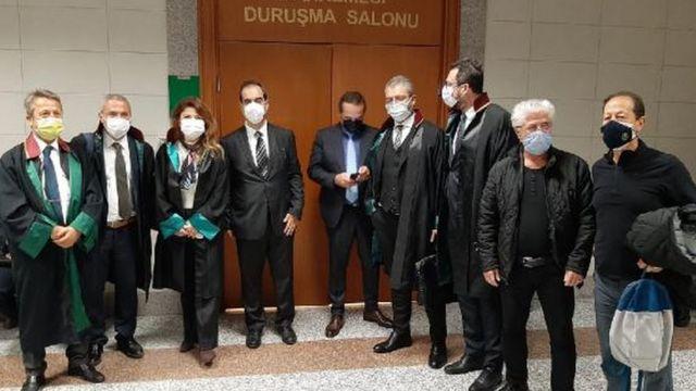 sanıklar ve avukatlar