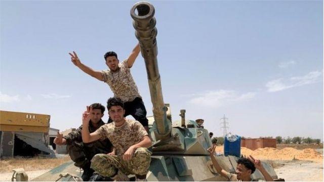 قوات حكومية ليبية