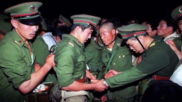 6月3日士兵被拦截